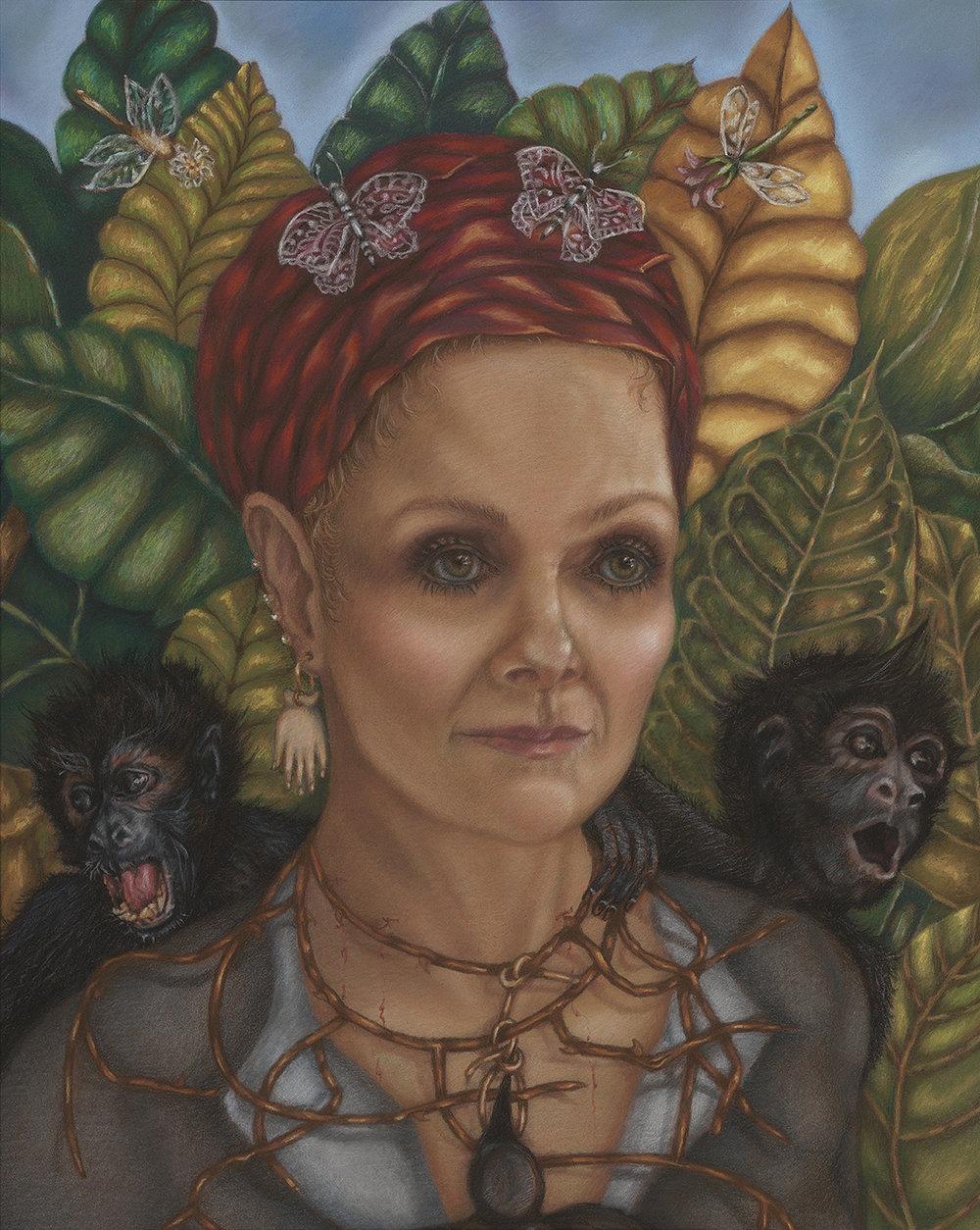 """Frida B Me, 16"""" x 20"""""""