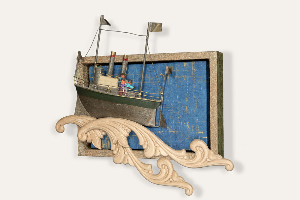 Troubles at Sea, side view