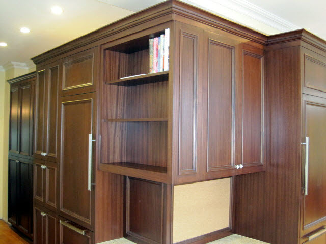 stained-quarter-sawn-sapelle-kitchen-cabinets-with-built-in-book-case-7.jpg
