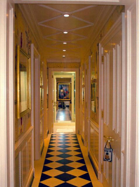 Hallway & Ceiling