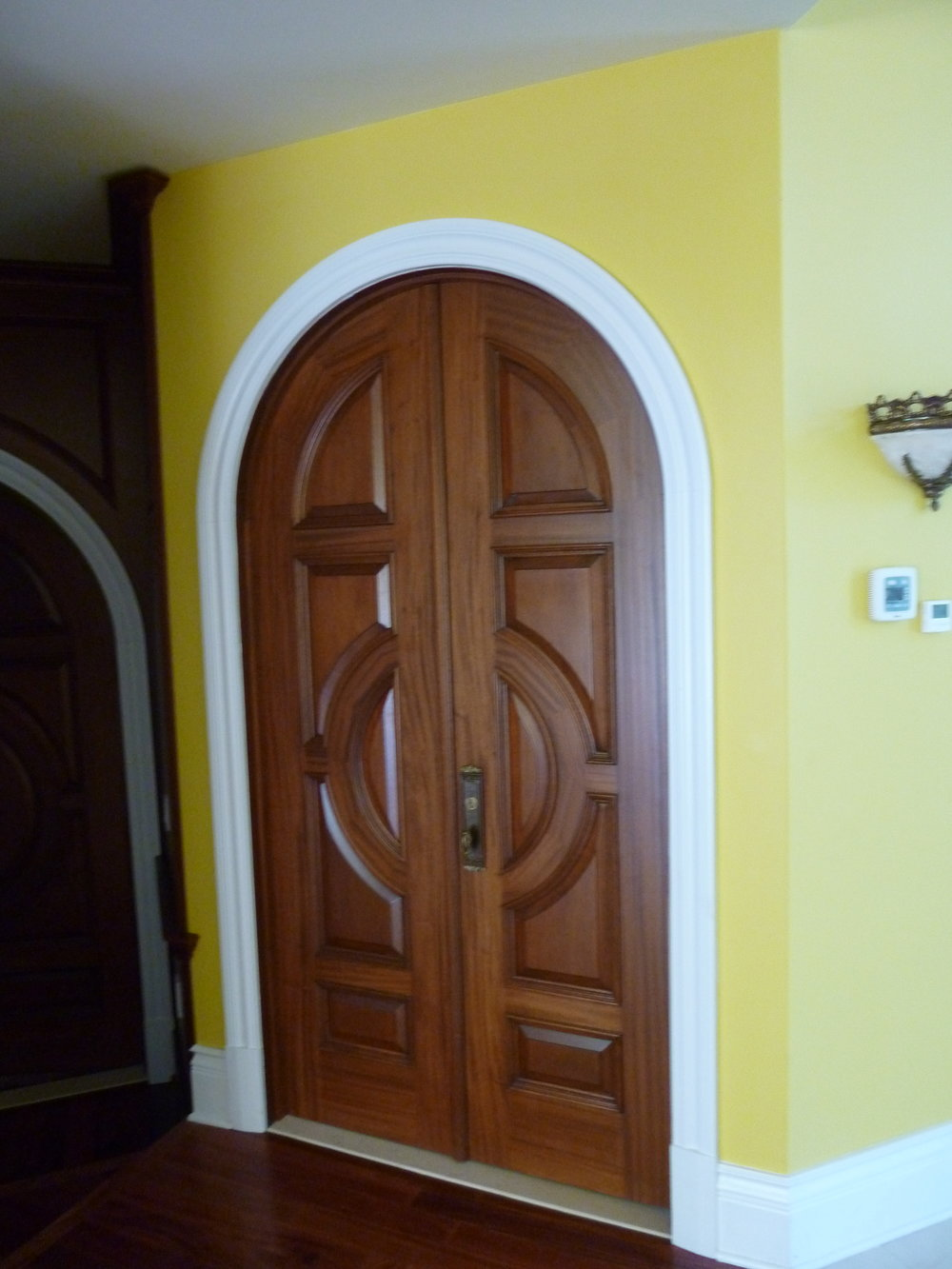 Master Bedroom Entrance Doors