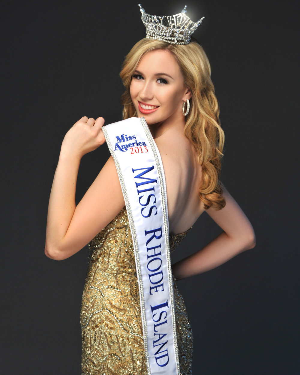 Jessica Marfeo  Miss Rhode Island 2013  Quality of Life Finalist