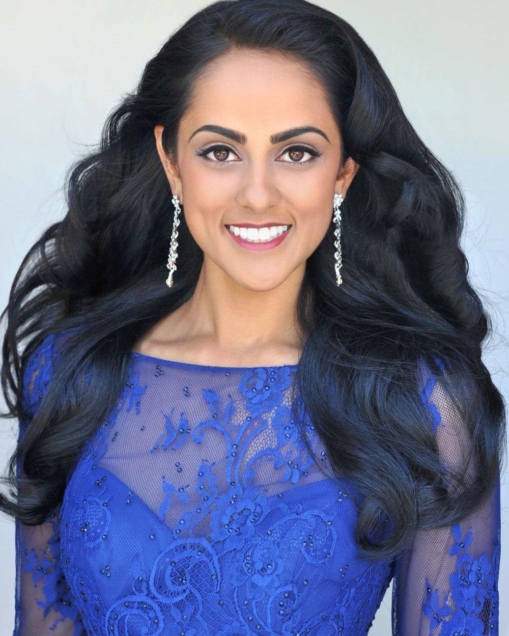 Shruti Nagarajan Miss Rhode Island 2016