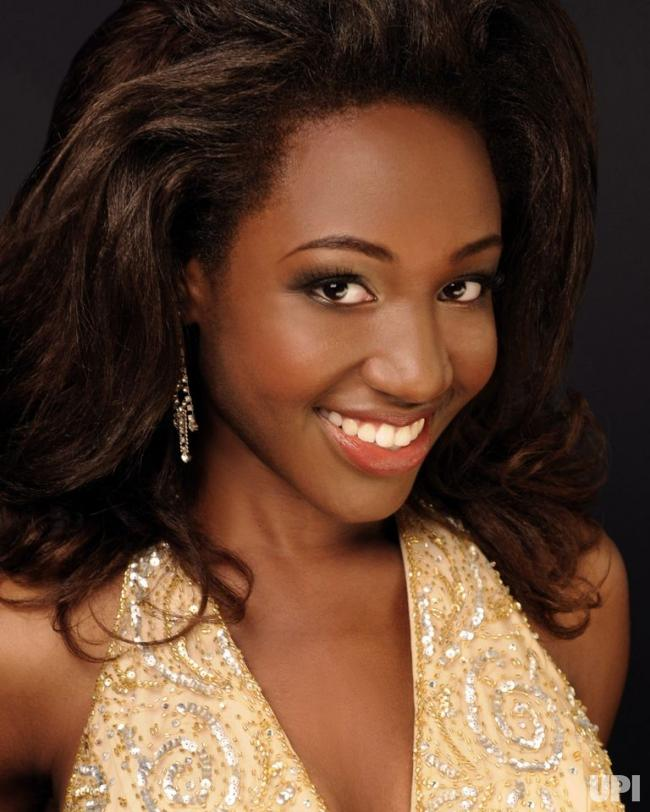 Deborah Saint-Vil Miss Rhode Island 2010 Talent Preliminary Winner Top Ten at Miss America