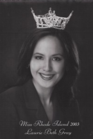 Dr. Laurie Beth Gray  Miss Rhode Island 2003  Talent Preliminary Winner
