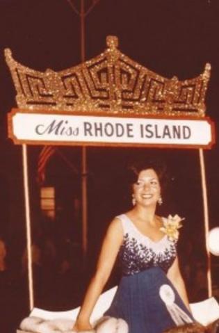 Michelle Passarelli Miss Rhode Island 1972 USO Troupe