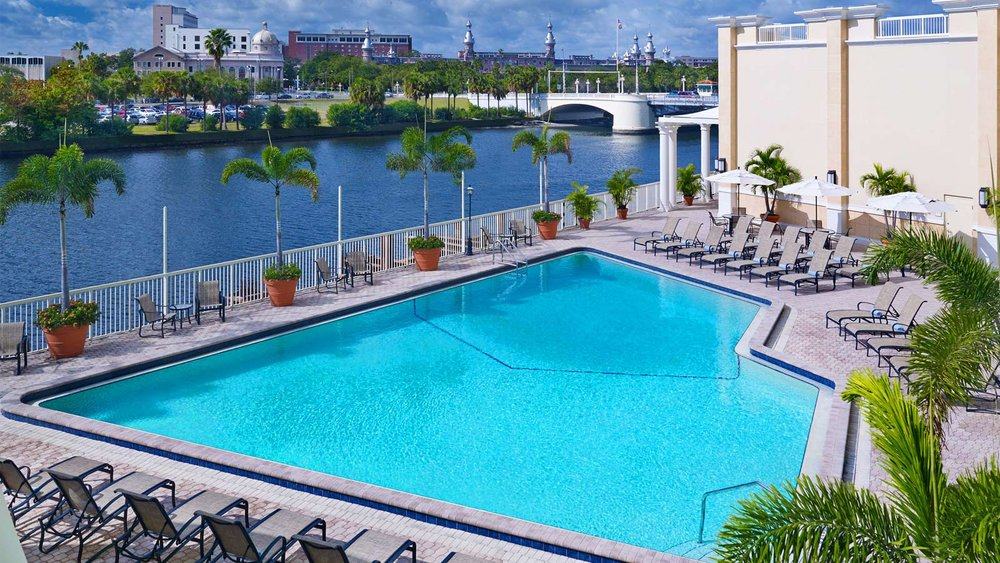 The Sheraton Tampa Riverwalk Hotel, Tampa, FL