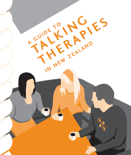 Te Pou Talking Therapies pamphlet