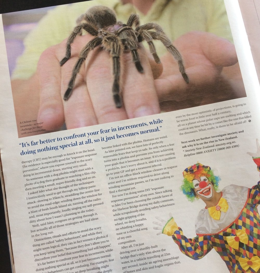Sunday Star Times article Nadine Isler