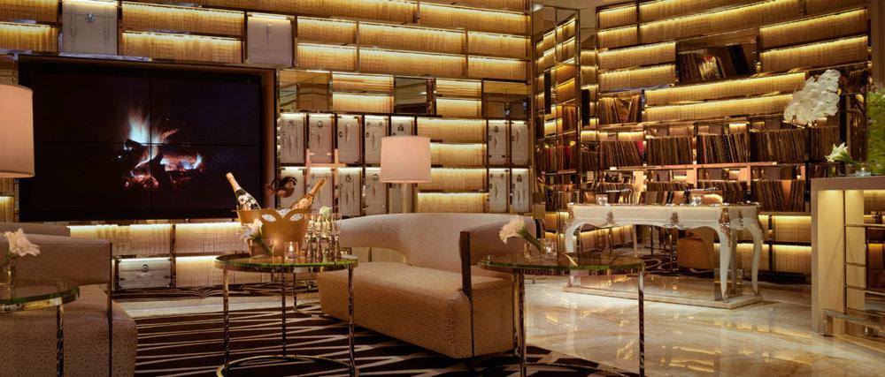 Intrigue's Living Room, Barbara Kraft via Vegas Seven