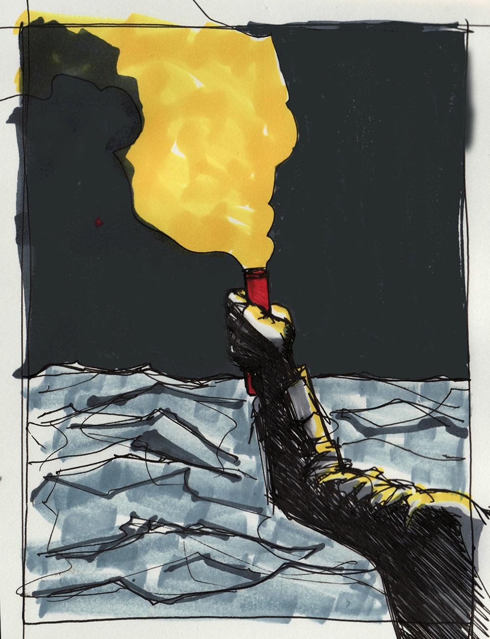 Russell Kabir - Cavalier Album Art