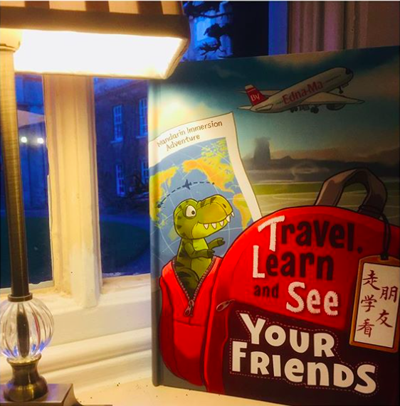 "Today, we have our first ever guest episode! The Audiobook(s) of ""Travel, Learn and See Your Friends: Adventures in Mandarin Immersion"" - by Dr. Edna Ma. This is my copy when it arrived at Cambridge! (Window seat at Christ's College Buttery!)"