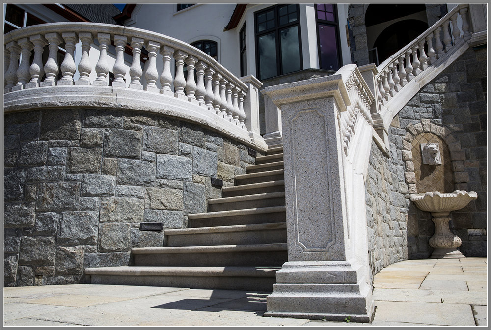 Granite Balusters, Balustrades and Columns