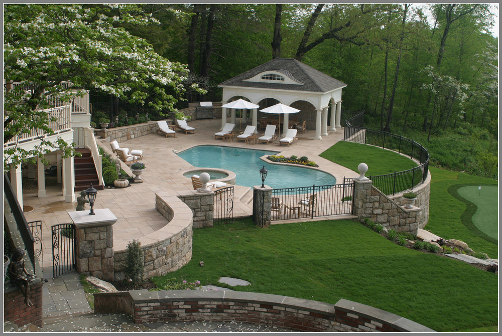Complete masonry by Artistic Outdoors