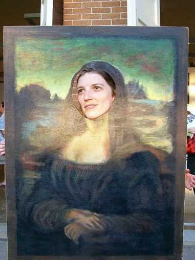 PS: Did you know that the Mona Lisa,so big in the cultural imagination, is only 30 inches tall and 21 inches wide? Small thing, giant impact!