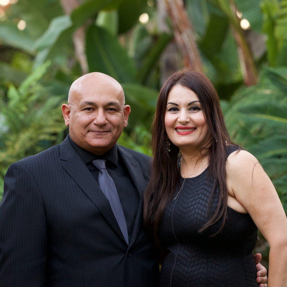 Dr. Magdy Salib and Dina Fargalla, Organizers