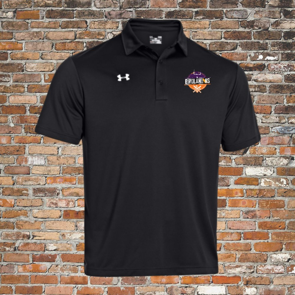 Under Armour Team Rival Polo (Black):Click for Special Pricing