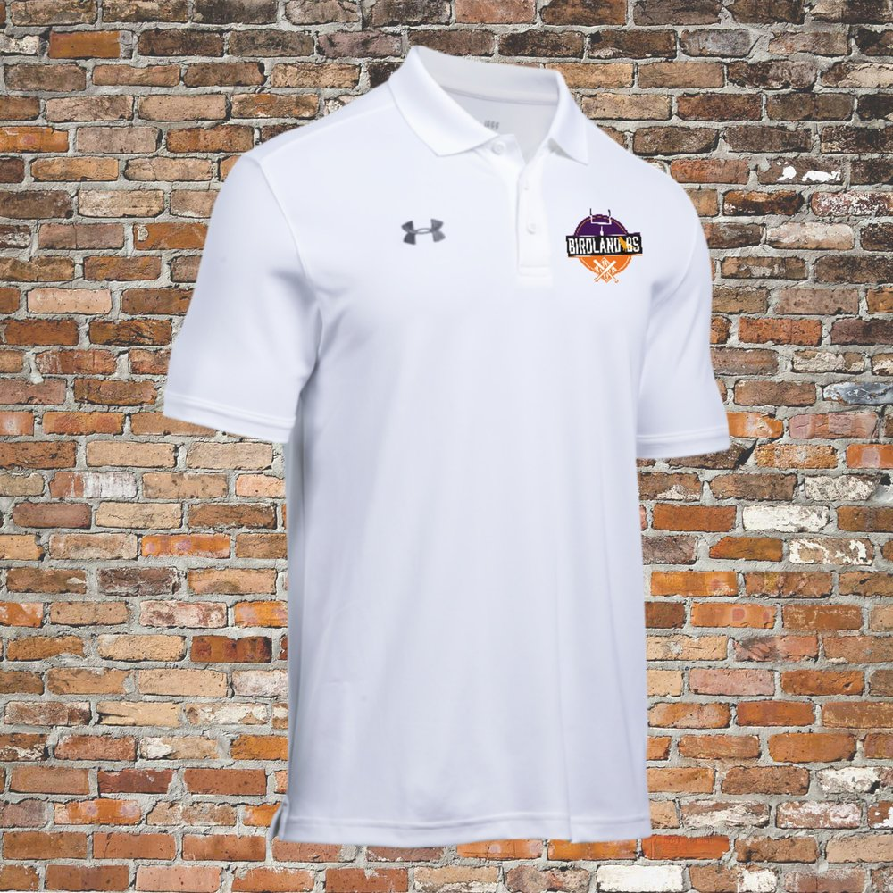 Under Armour Team Armour Polo (White):Click for Special Pricing