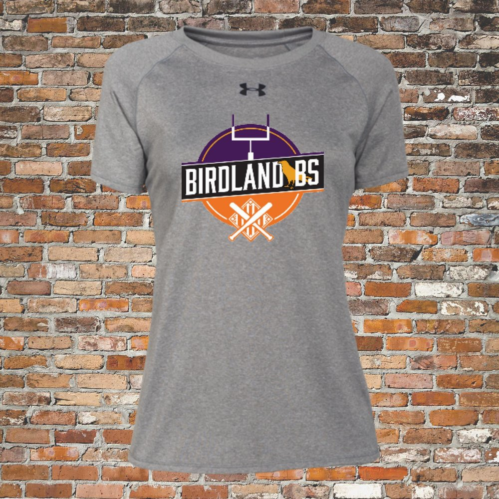 Under Armour Women's Locker Short Sleeve Tee (Gray):Click for Special Pricing