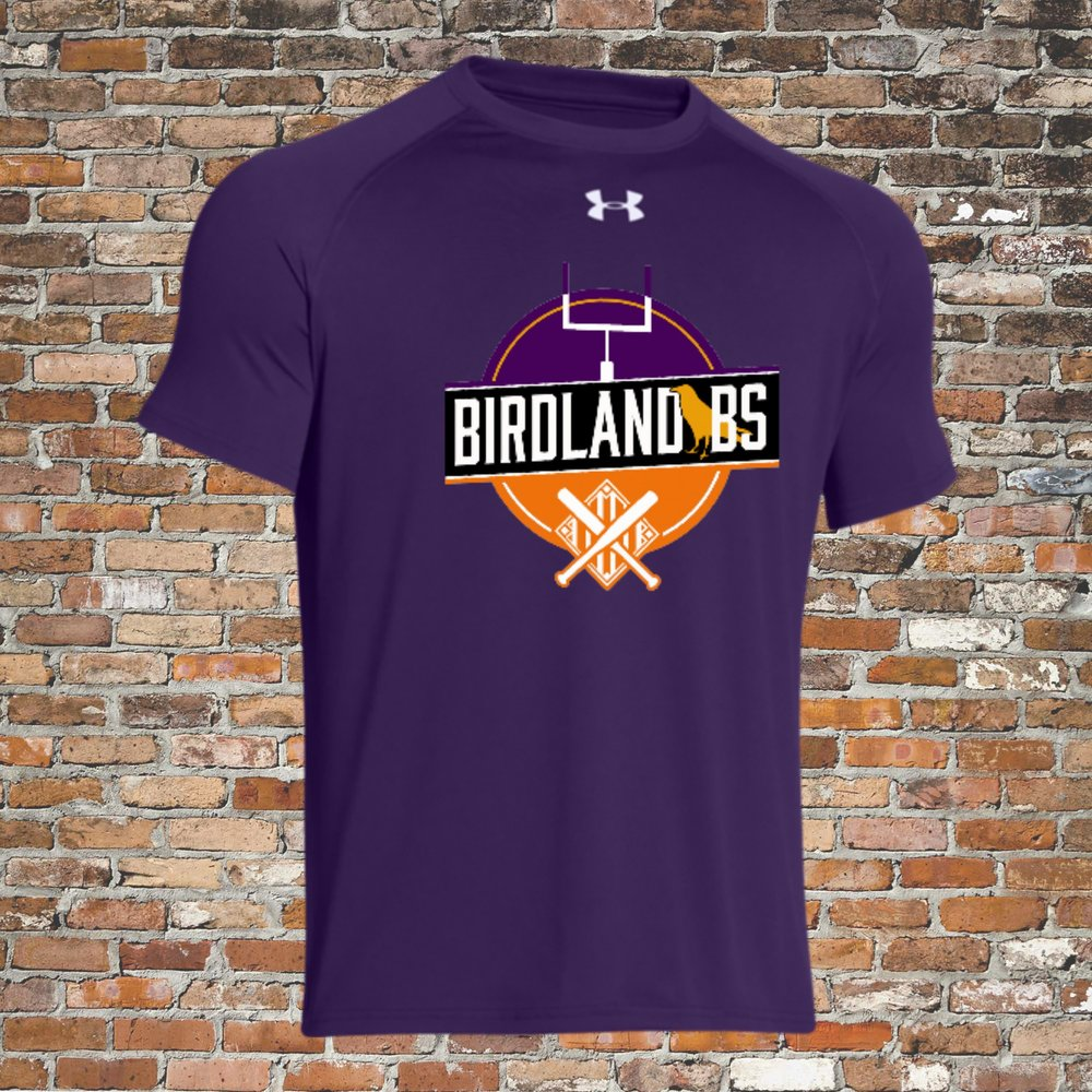 Under Armour Locker Short Sleeve Tee (Purple):Click for Special Pricing