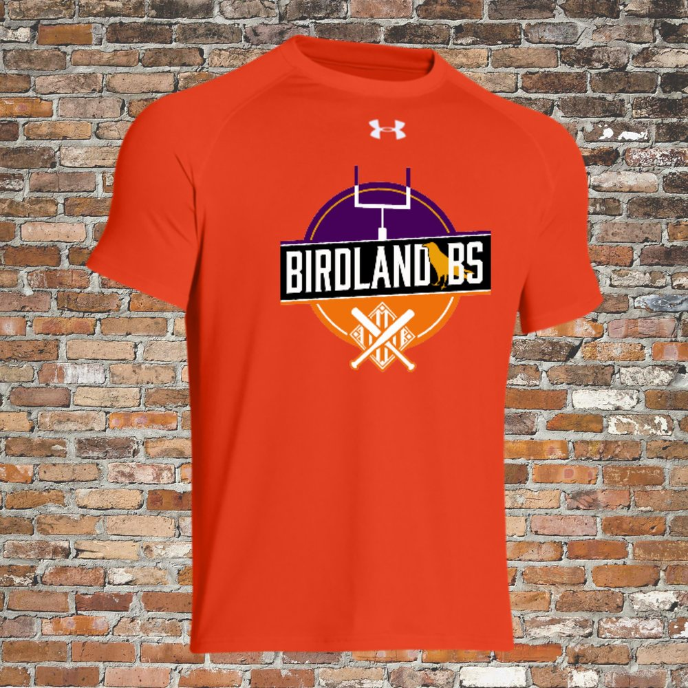 Under Armour Locker Short Sleeve Tee (Orange):Click for Special Pricing