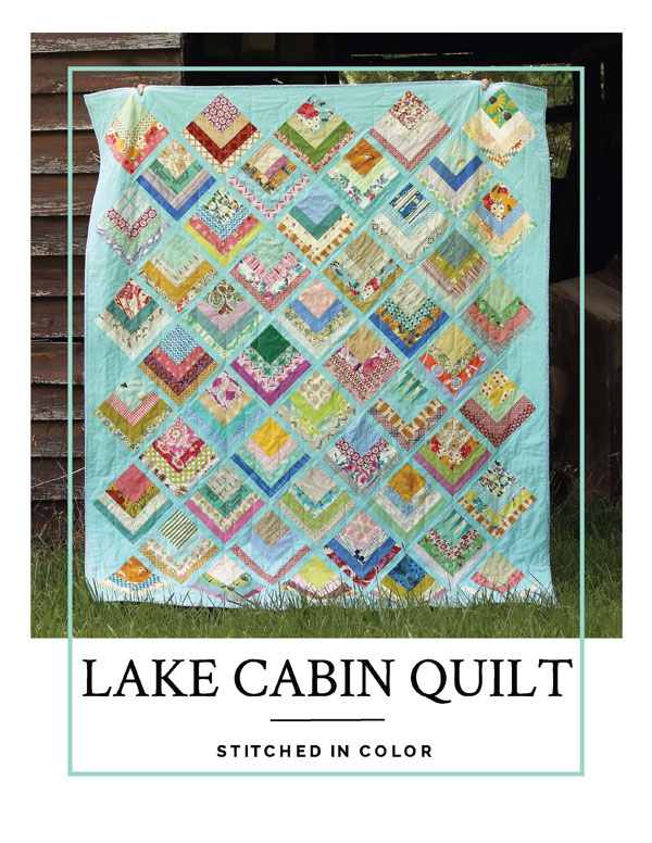 Lake Cabin: Finished Quilt + Pattern — Stitched in Color : cape cod quilt shops - Adamdwight.com