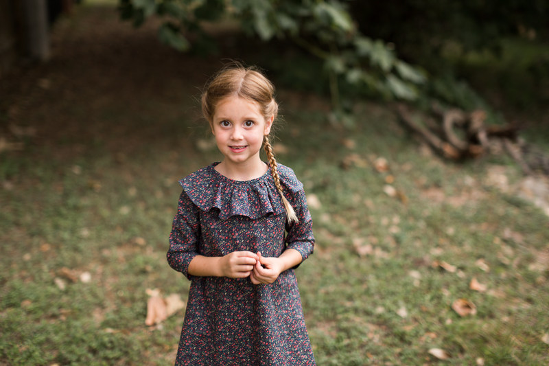 Juliette Dress, by Rachel at Stitched Together