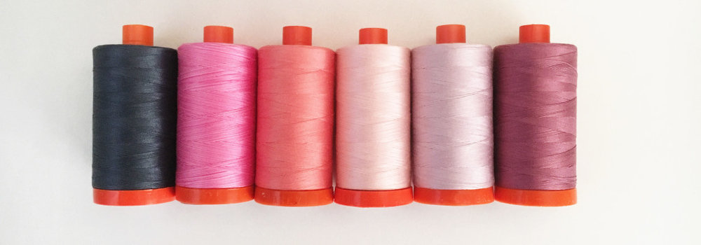 Aurifil 50 wt thread