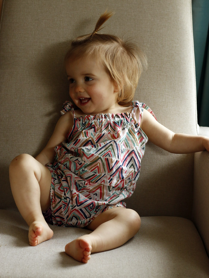 Light and Breezy Toddler Summer Romper