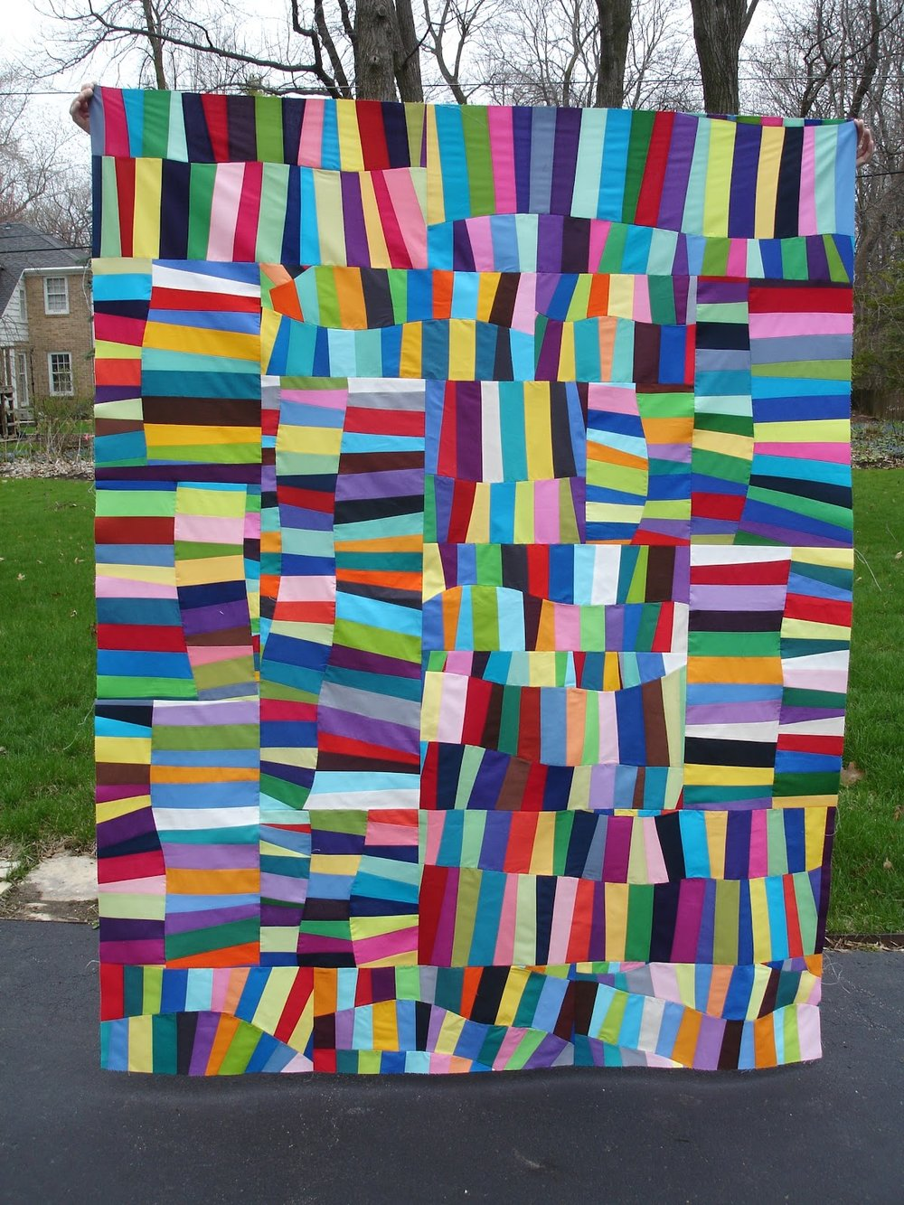 Oodalolly Quilt project by Elaine of Dashasel Sews