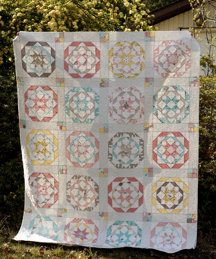a little girl's Lily quilt.jpg