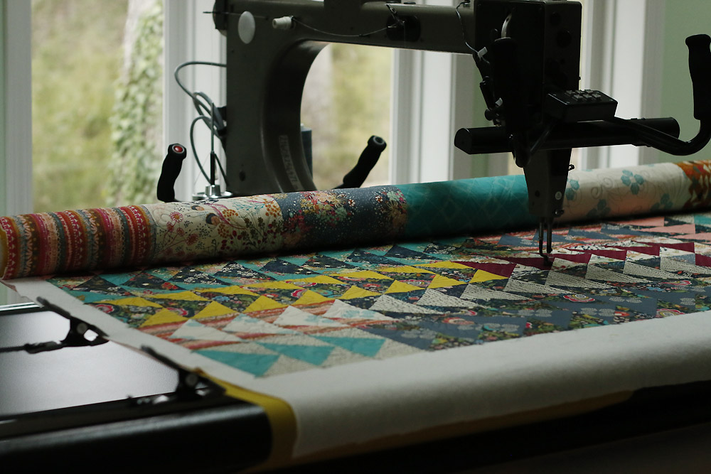 How To Prep Your Quilt Top For Longarm Quilting Stitched In Color Adorable Best Sewing Machine For Quilting Large Quilts