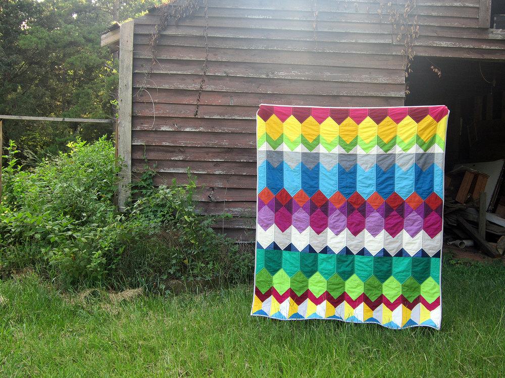 Cascade quilt