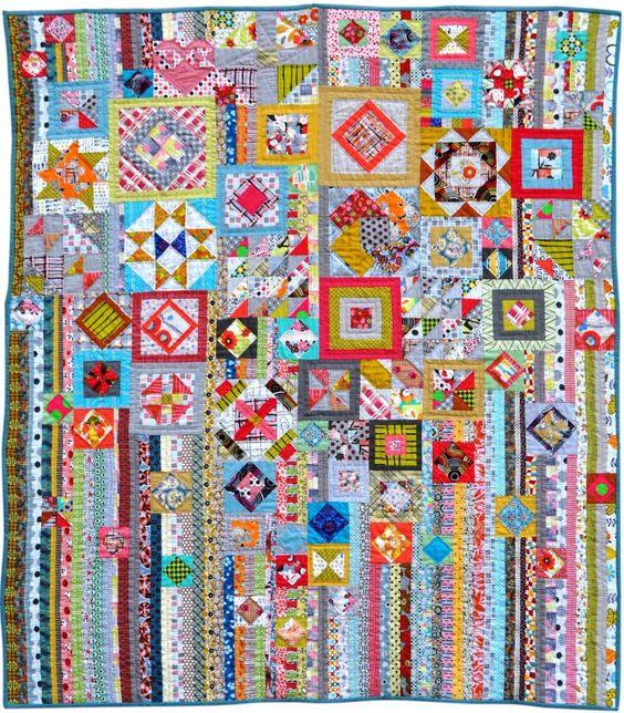 Jen Kingwell's Gypsy Wife quilt