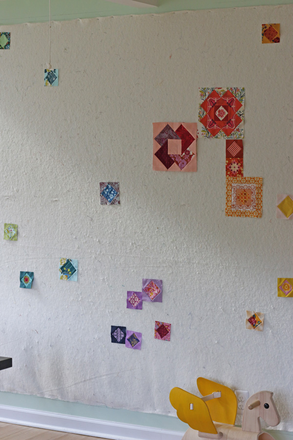 Charting Gypsy Wife on Design Wall. Stitched in Color.jpg