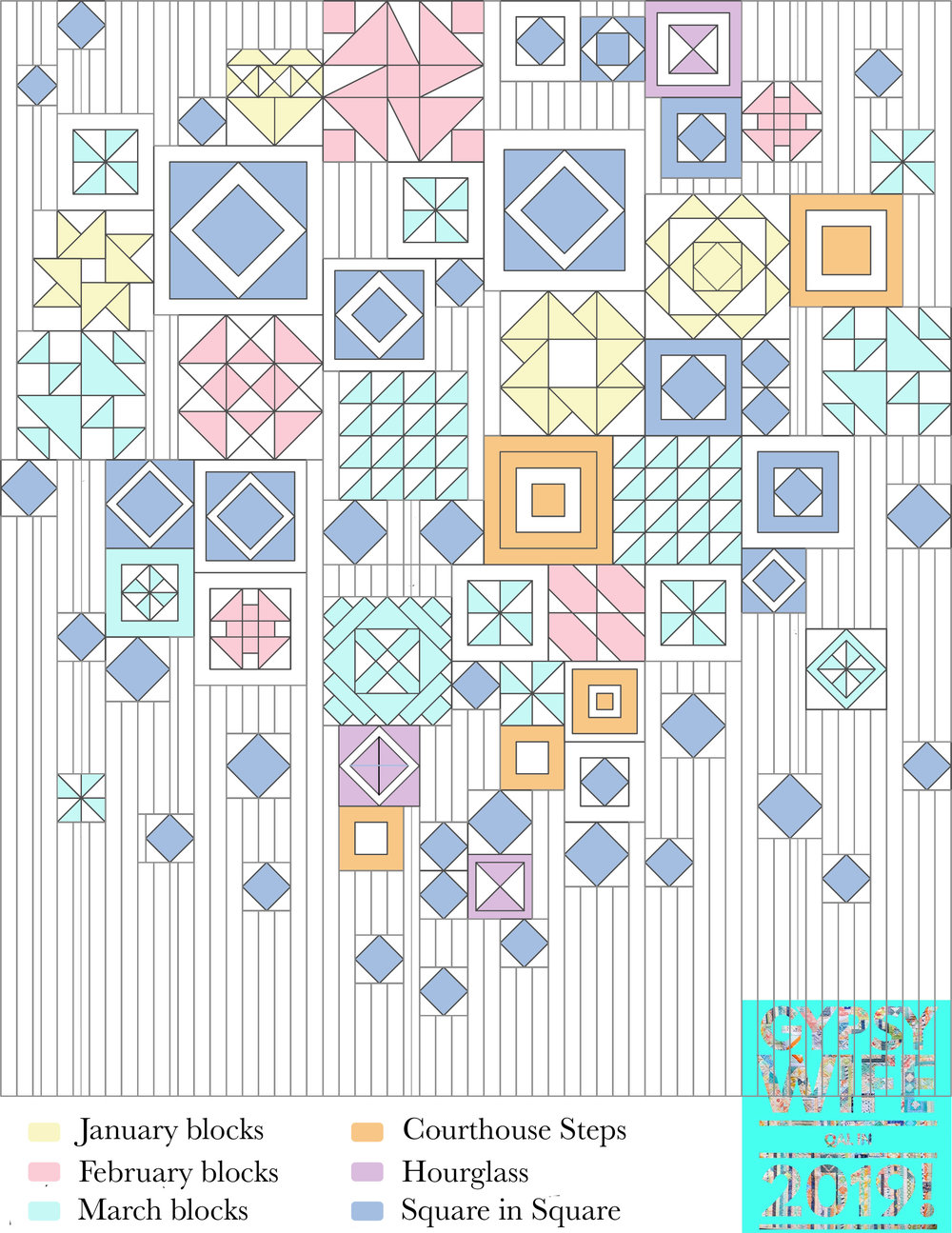 April Gypsy Wife Quilt Map. Stitched in Colorjpg.jpg