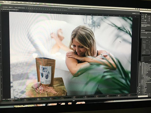 On my screen today, finding the gems. So lucky to work with such an amazing team @cedarandstonebotanicals @beecooper @phoebefever @jadetilleywarren @tigerlilyswimwear @summerlilyphotography