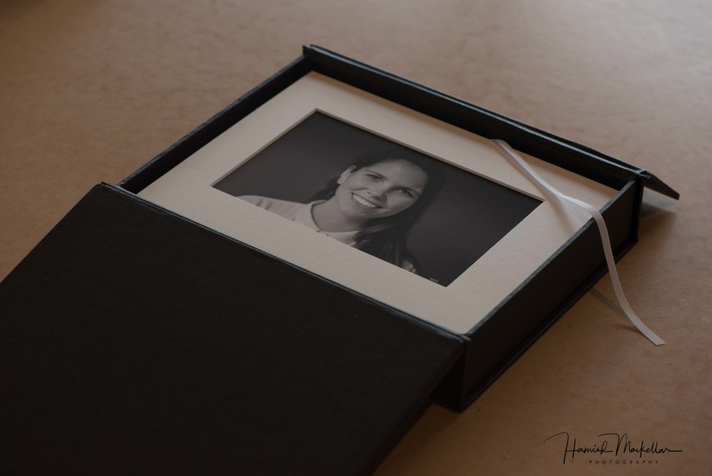 Sample Portraiture Folio Box
