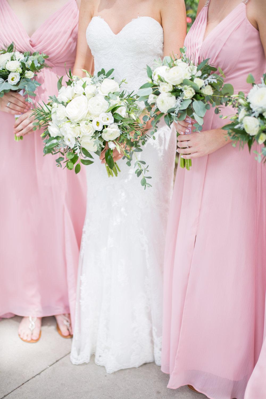 Powel Crosley Estate | Wedding | Pink and Gold Wedding | Bridesmaids Dresses | Wedding Bouquet | Sarasota Weddings | Spring Wedding | Jess Anne Photography