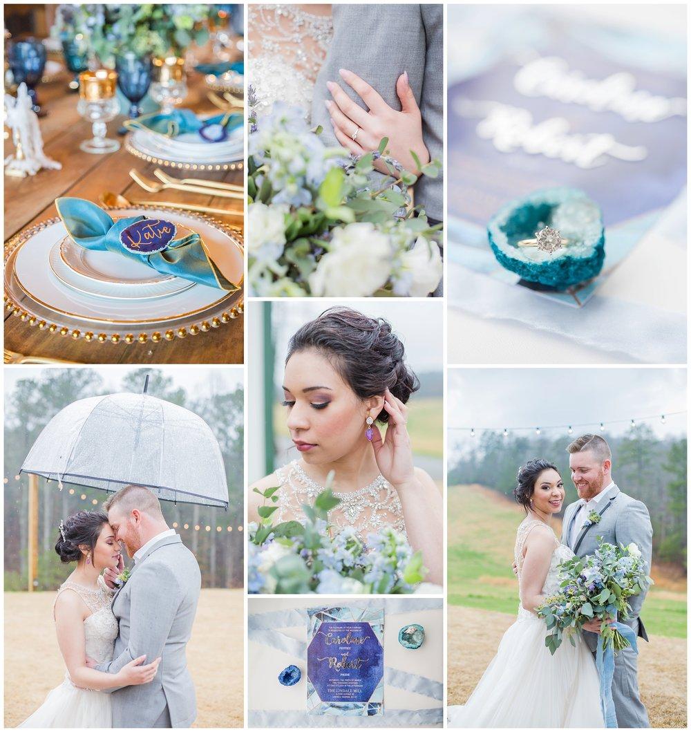 Geodes + Crystal's Styled Wedding in Georgia!