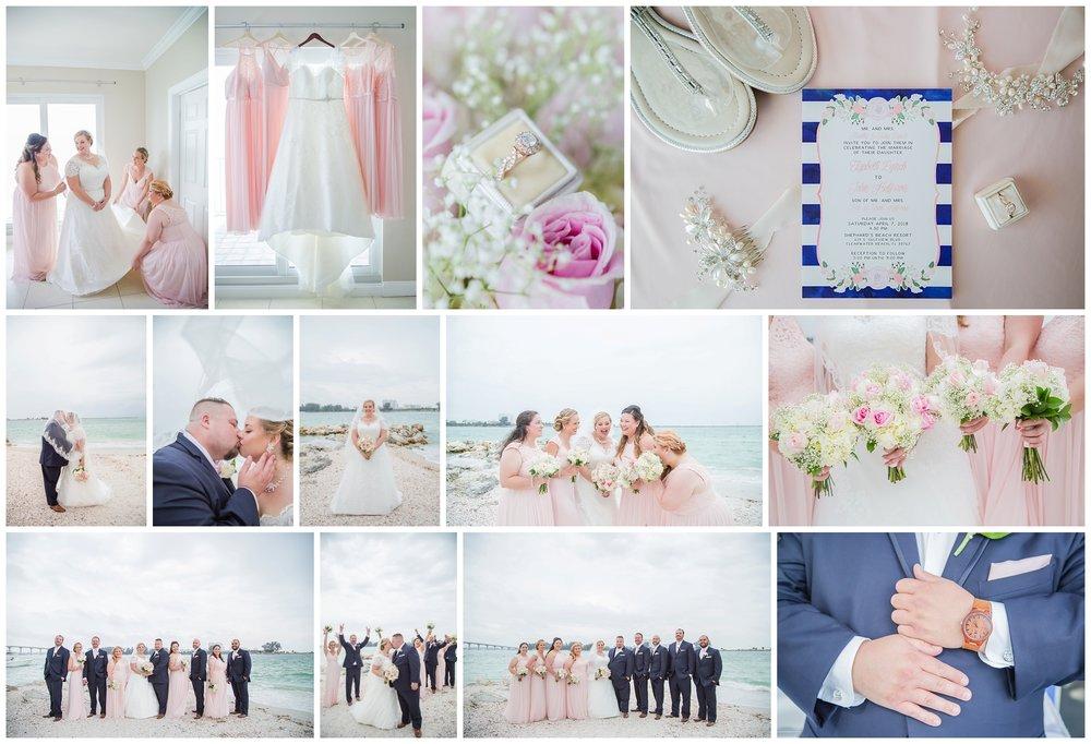 Liz + John's beautiful beach wedding! We had SO much fun, and I cannot wait to get their wedding on the blog soon!! Congratulations Liz + John!! :)