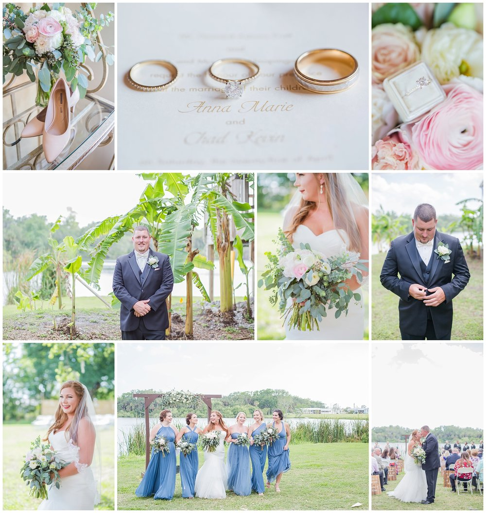 Anna + Chad's beautiful lakeside wedding! I loved second shooting this wedding with Amanda!