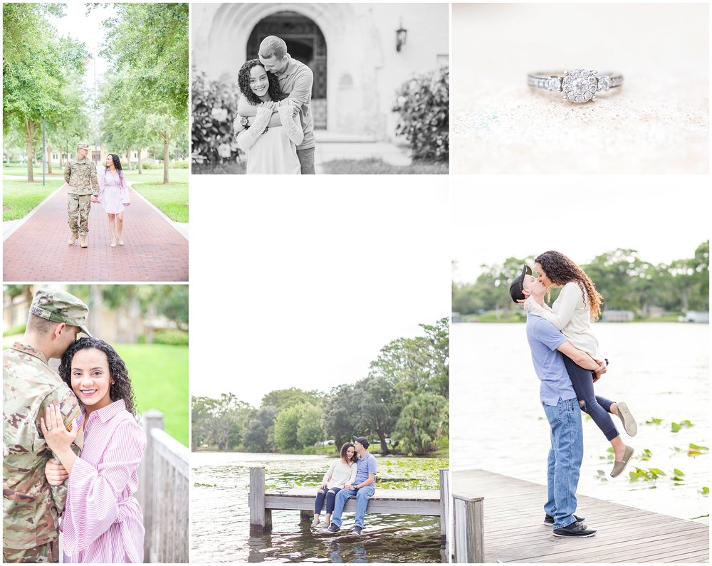 A sneak peak of Jari + Jason's engagement session at Rollins College. Be sure to check out their blog post to see even more images from this session! You're going to love them!