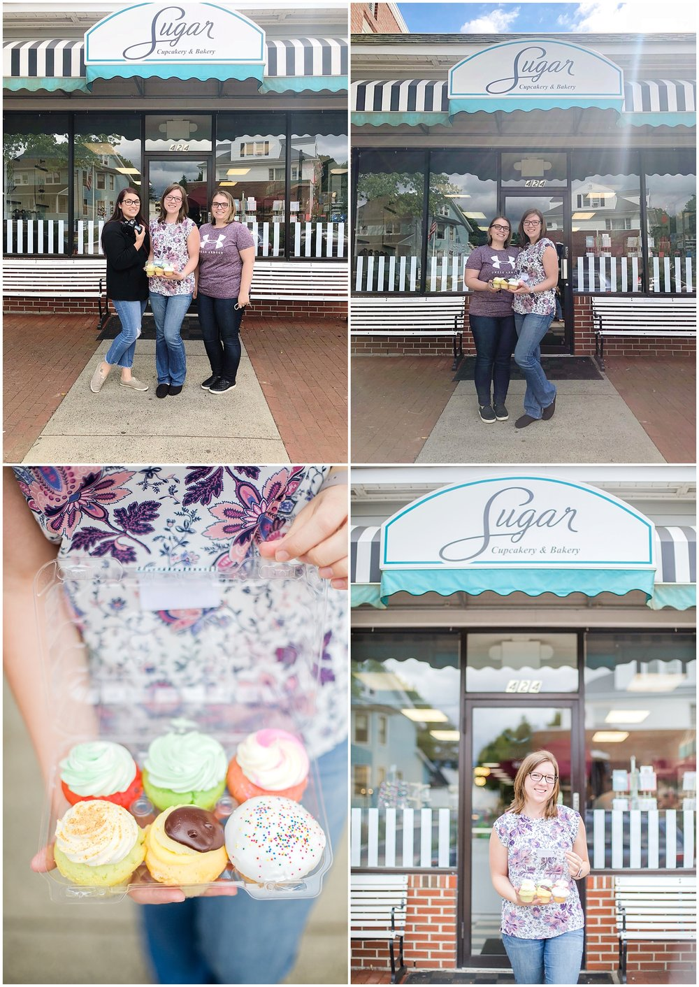 I had such a blast going to Sugar Bakery with Jamie and Sydney! They had the best flavors in stock!! Also, thank you so much Sydney for capturing some images of me at my favorite place! :)