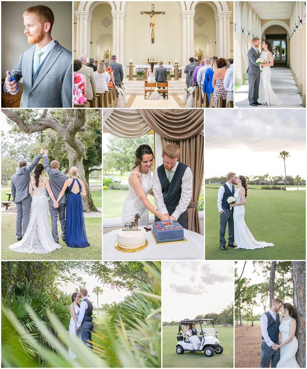 Such a fun wedding I got to second shoot with Ana! We had so much fun exploring the golf course and capturing portraits of these two!!