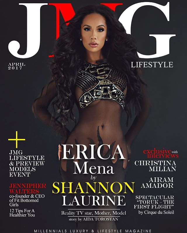 Check out our latest cover feature with @iamericamena for JMG Lifestyle Mag OUT NOW!!! Support , Show Some Love and Book Us for your next Cover Shoot!  Publication: @jmglifestyle  Placement: @themusesociety  Makeup: @leahdarcymakeup  Stylist: @joshuaomarjohnson  Hair: @peterhairbh  Info@shannonlaurine.com |  #ShannonLaurine #Covers #WeWerkin
