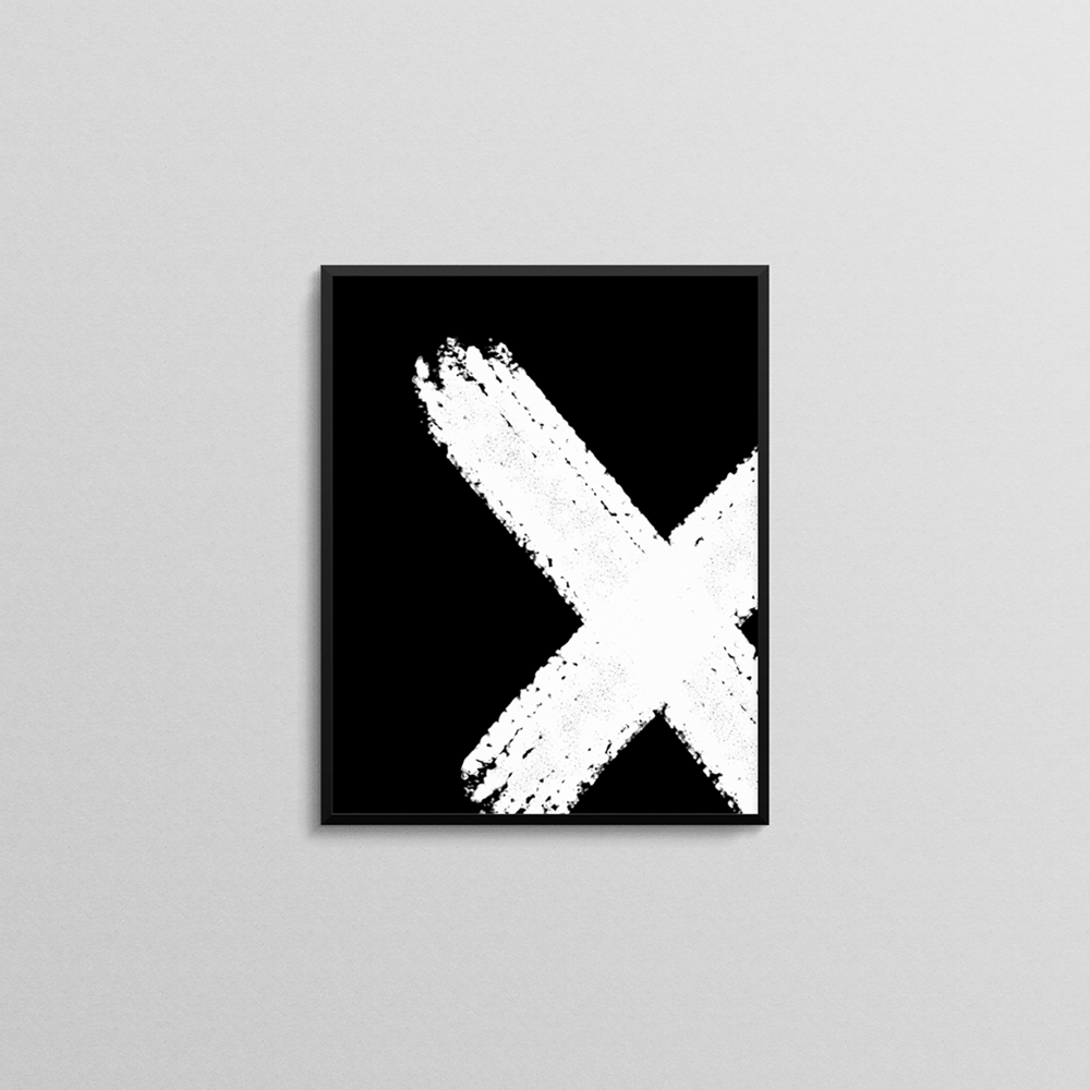 SMALL_Brush Abstract Print 1_inverted_black frame.png