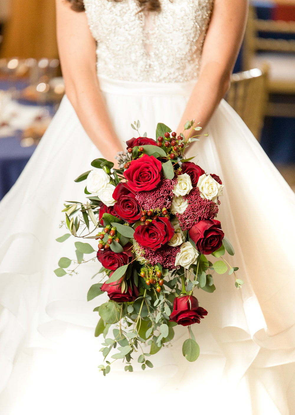 Beauty and the Beast Wedding Bouquet - Better Together Photography