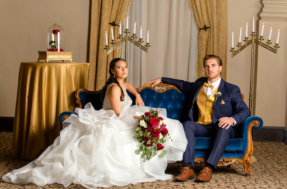 Beauty and the Beast Wedding - Better Together Photography