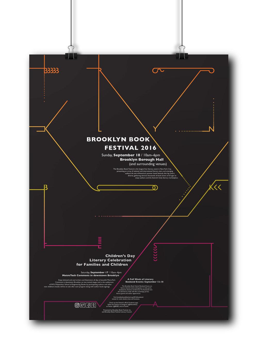 Brooklyn Book Festival Poster